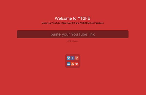 YT2FB - Link einfügen
