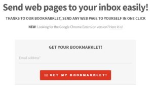 bookmark email