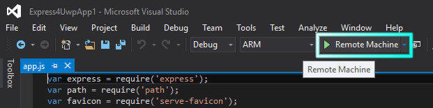 start-remote-debug